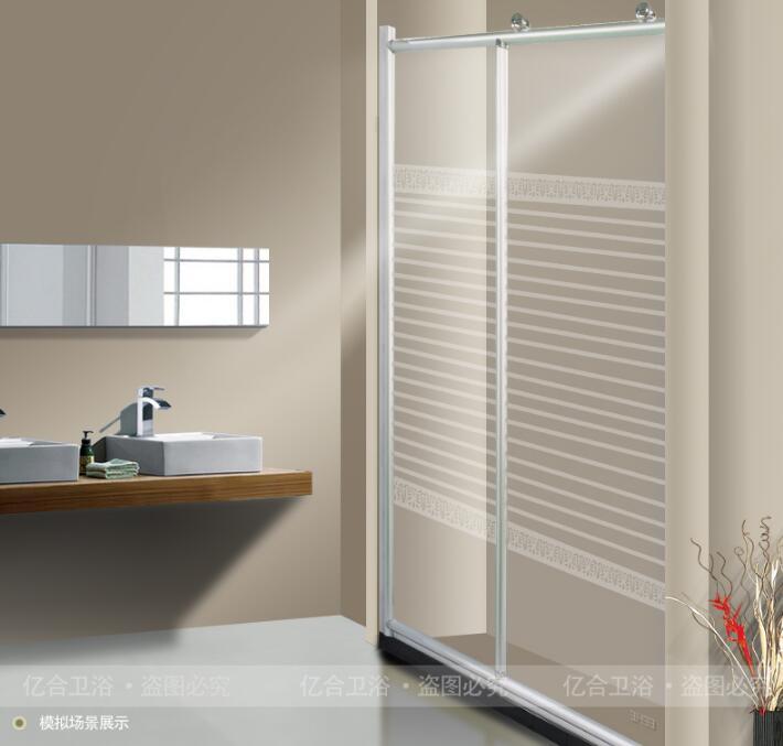 YHH-002一字形简易卫生间淋浴房