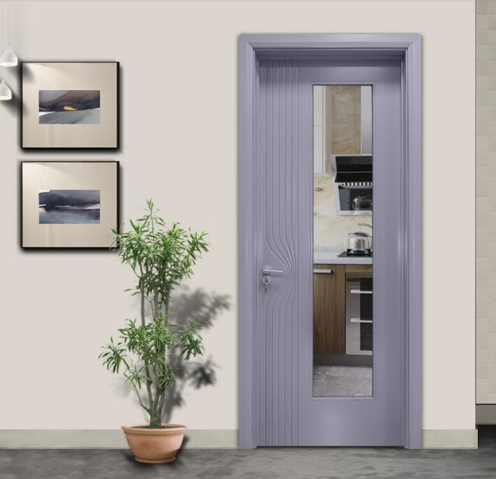 柳系列-烤漆室内平开木门