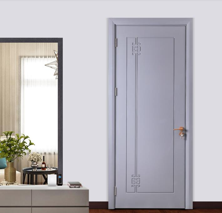 事事如意静音门-简约现代卧室复合实木门